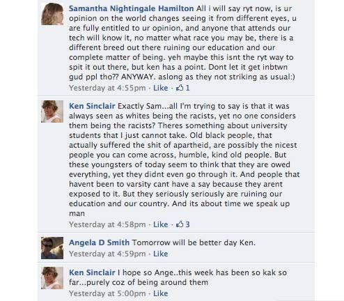 FB racism