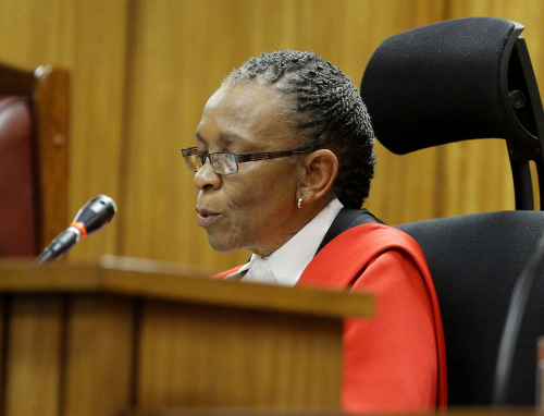 Judge Thokozile Masipa/Getty Images