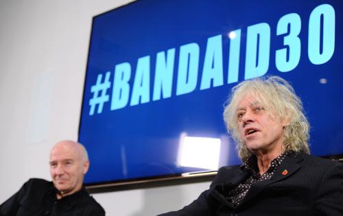 Midge Ure and Bob Geldof (Getty)