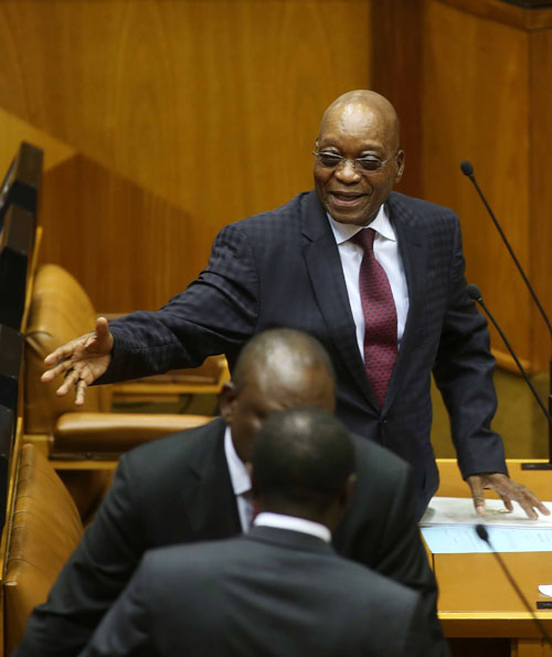 Nkandla and e-tolls could result in President Jacob Zuma not seeing out his second term. (Esa Alexander, Gallo))