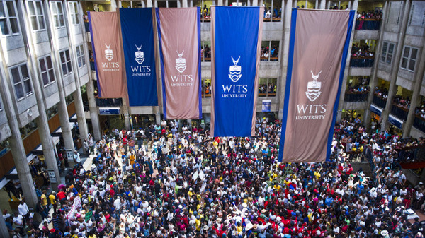 Wits students protest fee increase. (M&G)