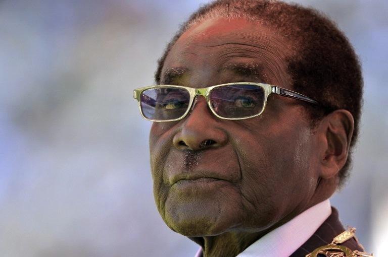 Robert Mugabe (Pic: AFP)