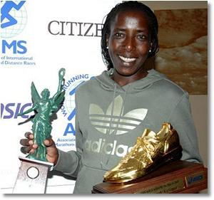 Four-time world champion Lornah Kiplagat. (Pic: lornah.com)