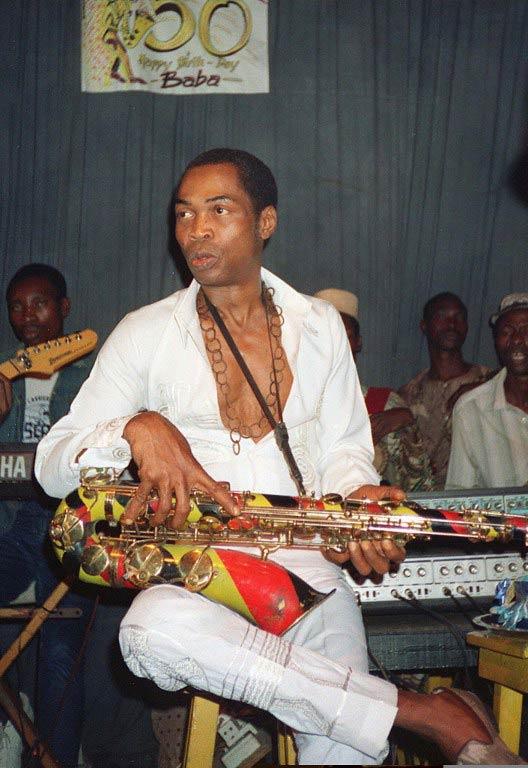 Fela Kuti. (Pic: AFP)