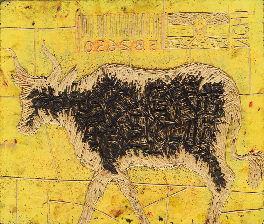 Peterson Kamwathi's 'Nchi 1 Barcode'. (Pic: Circle Art Agency)