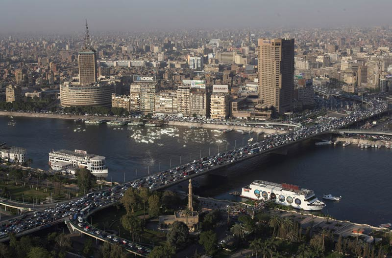 Boats float on the river Nile in Cairo on April 30 2013. (Pic: AFP)