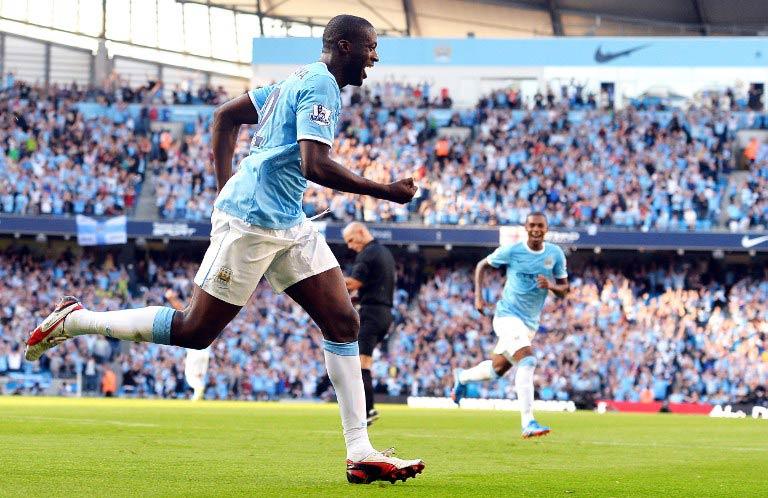 Yaya Toure. (Pic: AFP)