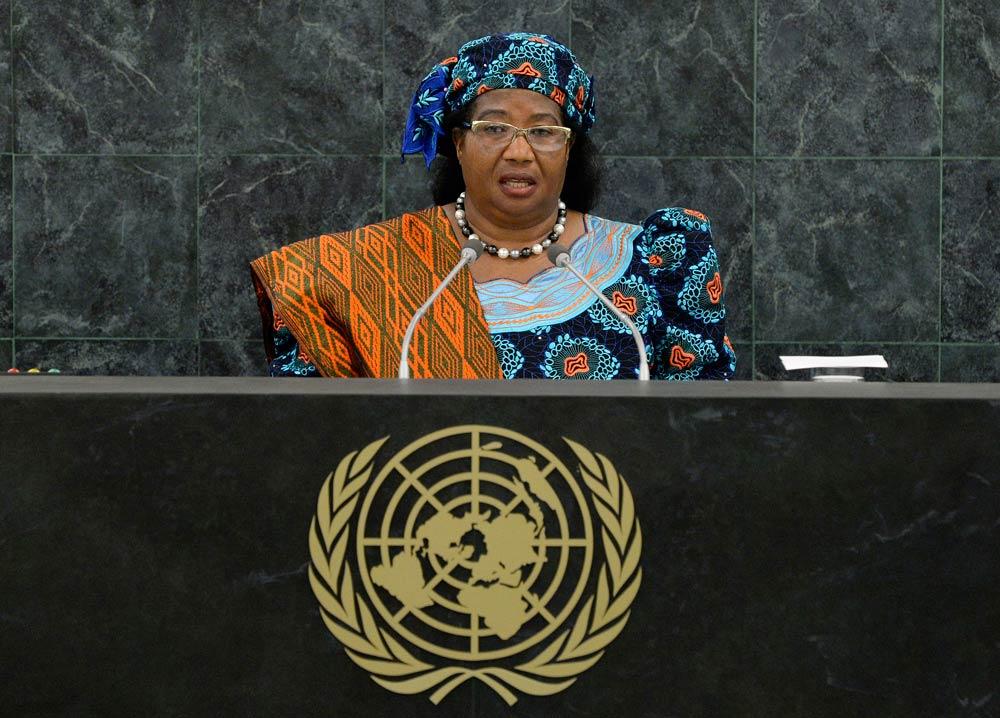 Former Malawian president Joyce Banda. (Pic: Reuters)