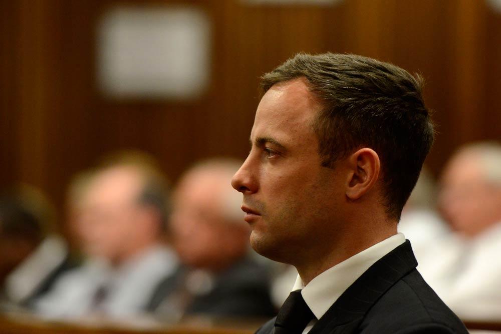 Oscar Pistorius in the Pretoria High Court on October 21 2014. (Gallo)