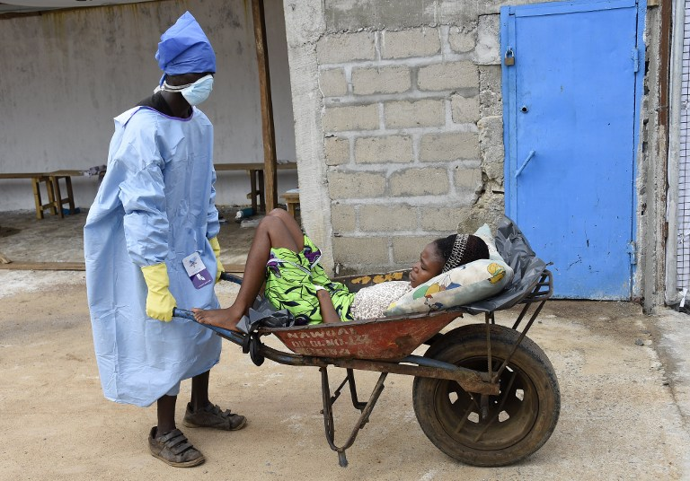Buckets and soap – birthday gifts for a president in an Ebola zone