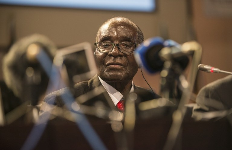 Zimbabwean President Robert Mugabe announced yet another Cabinet reshuffle last week. (Pic: AFP / Mujahid Safodien)